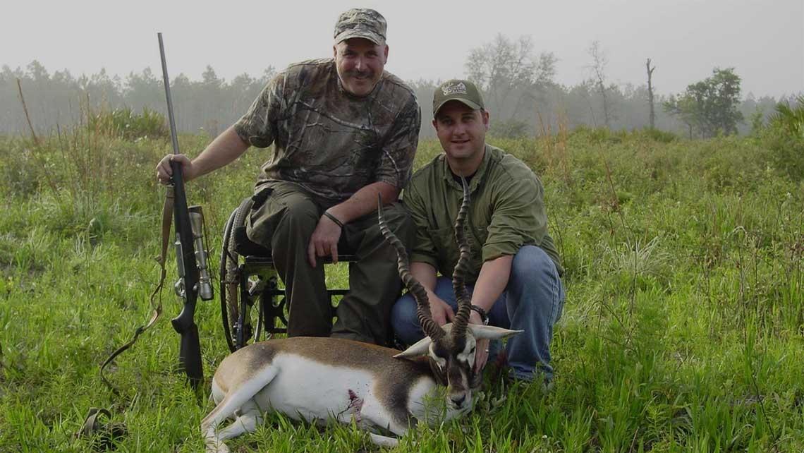 black buck antelope hunted in florida